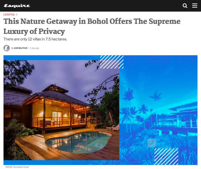This Nature Getaway in Bohol Offers The Supreme Luxury of Privacy
