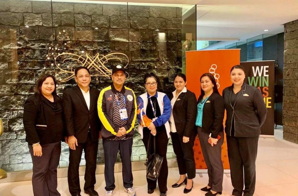 Midas Hotel employee cited in DOT's Appreciation Night for Tourism Oriented Enterprises