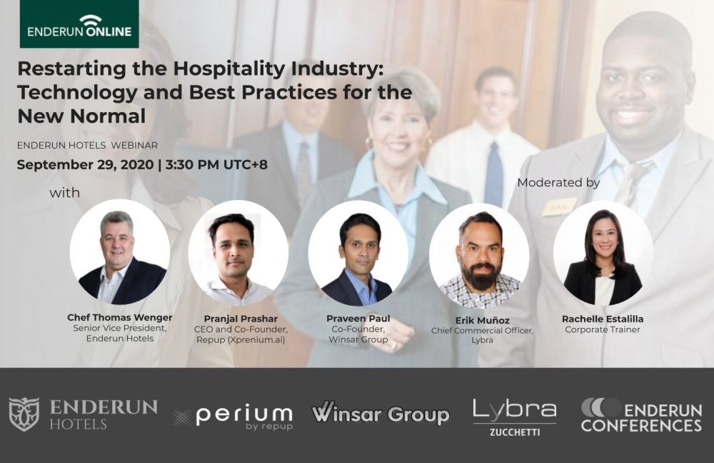 Restarting the Hospitality Industry: Technology and Best Practices for the New Normal